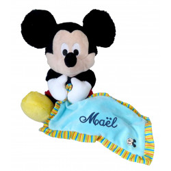 Grand Doudou Disney Mickey Bleu