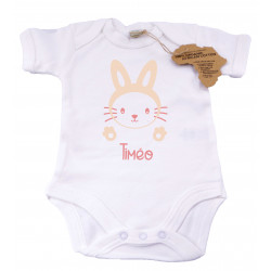 Ourson Câlin - Body bio Lapin Câlin