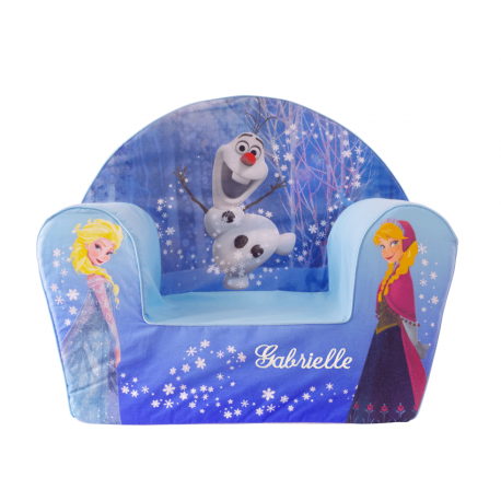 la reine des neiges fauteuil b b personnalis disney ourson c lin. Black Bedroom Furniture Sets. Home Design Ideas