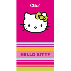 Drap de plage Hello Kitty Kim