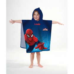 "Cape de bain ""Spiderman"" personnalisé - ourson câlin"