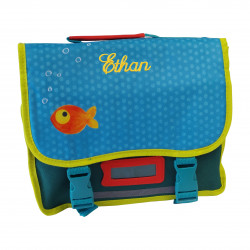 Cartable Poisson Rouge