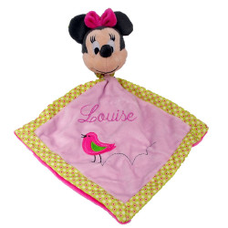 Doudou Minnie rose oiseau