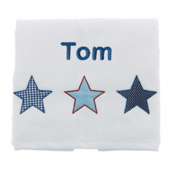 Drap de douche 70x130 et 50x90 - All Stars Boy