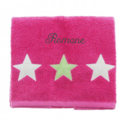 Drap de douche 70x130 et 50x90 - All Star Girl