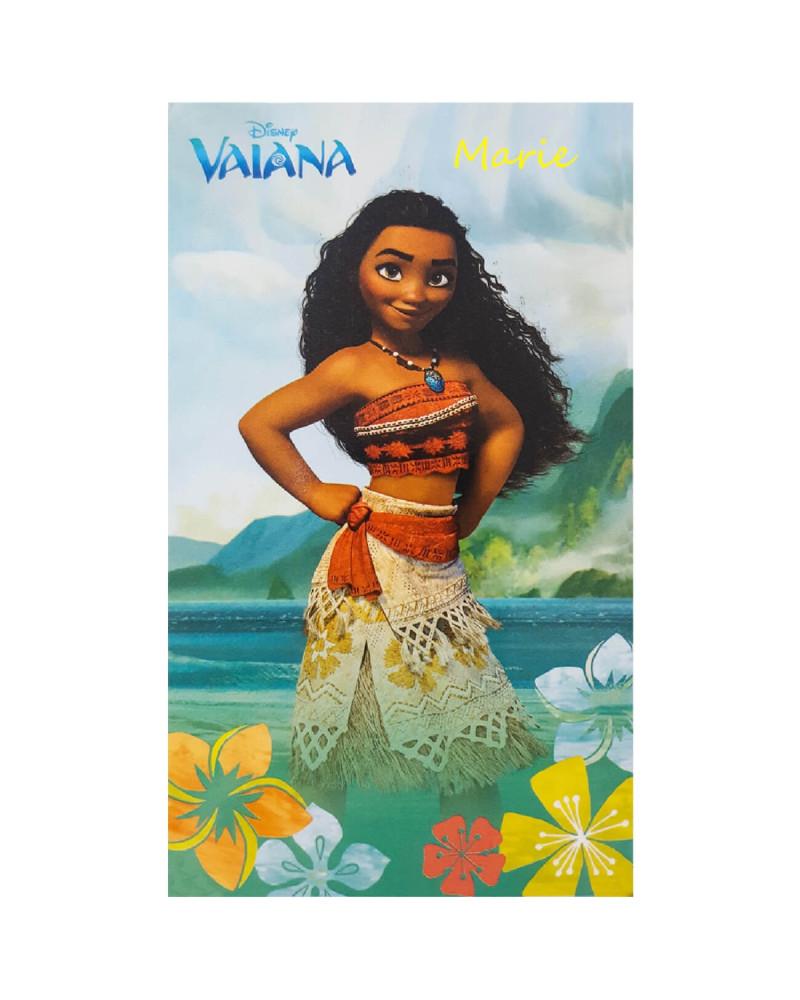 """Drap de plage """"Vaiana"""" Disney"""