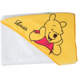 Carré de bain personnalisé Disney - Winnie l'ourson