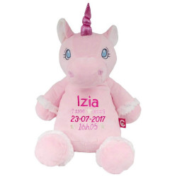 "Peluche Licorne rose ""Starflower"""