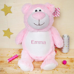 "Peluche Ours Rose ""Cubbyford"""