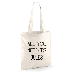 Tote bag All You Need Is ???