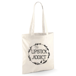 Tote bag Lipstick Addict'