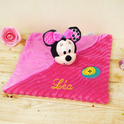 Doudou plat Minnie Rose