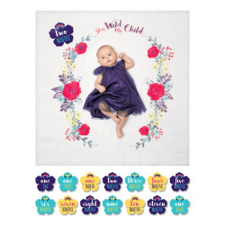"Maxi lange et cartes souvenirs ""Stay Wild My Child"""