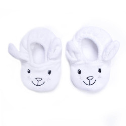 Chaussons velours Petit Lapin 0/6 mois