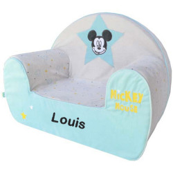 Fauteuil Disney Mickey My Story personnalisé