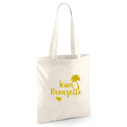 "Tote bag ""Team Bronzette"""