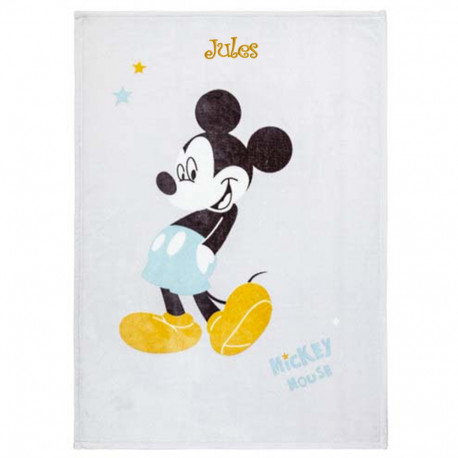 Couverture en Flanelle - Mickey Mouse