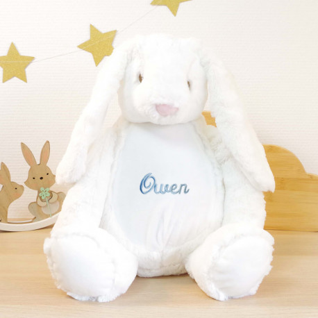 Grosse peluche personnalisée - Lapin Dolly
