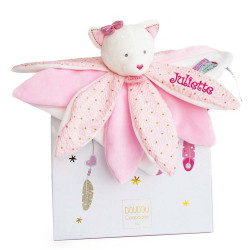 Doudou pétales Chat rose - Attrape-rêves