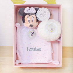 "Coffret Minnie ""My first christmas"" personnalisé"