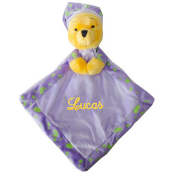 Doudou luminescent Disney - Winnie violet