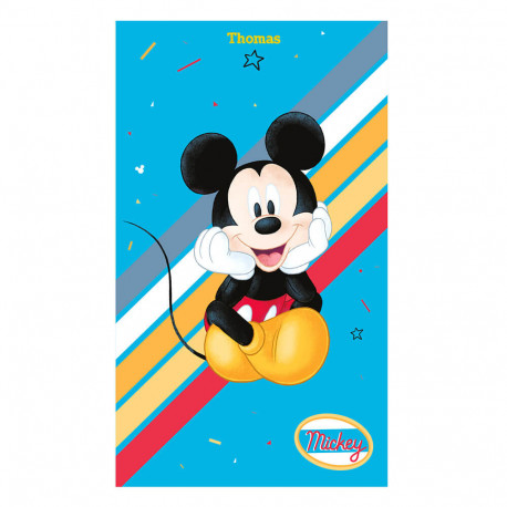 Drap de plage Disney - Mickey Colorfull
