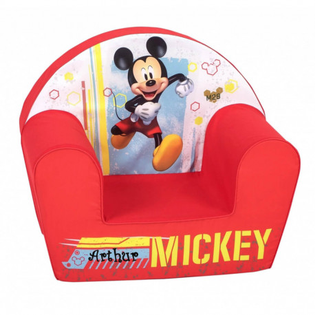 """Fauteuil Mickey """"Mixed up adventure"""" personnalisé"""