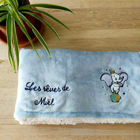 Couverture extra-douce - Dumbo (100x75cm)