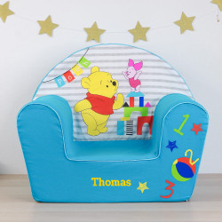 """Fauteuil personnalisé Winnie """"Ready to play"""""""