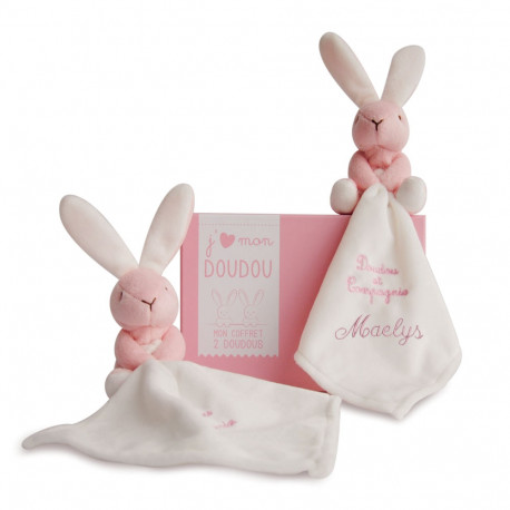 Duo Lapin Rose - J'aime