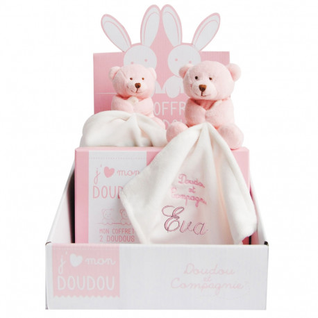 Duo Ours Rose - J'aime