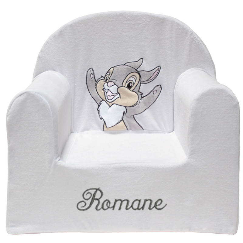 fauteuil enfant personnalis panpan disney baby ourson c lin. Black Bedroom Furniture Sets. Home Design Ideas