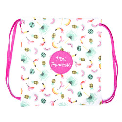 Sac de gym exotique - Mini Princesse