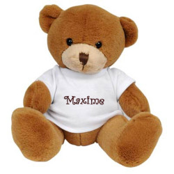 Ours en peluche - L'ourson Brownie