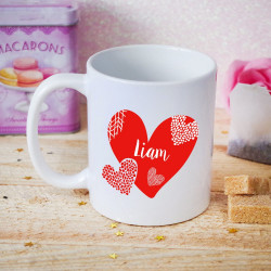Mug Saint Valentin personnalisé - Fall In Love