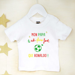 Tee-shirt Coupe du Monde de football - Ronaldo