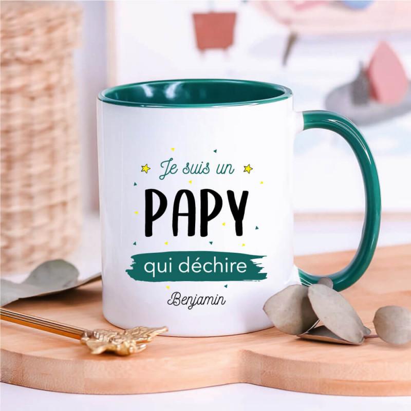 Mug Je suis un papy qui déchire