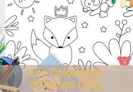 Les Coloriages d'Ourson Câlin