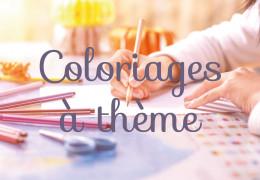 Les coloriages à thèmes