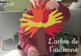 L'arbre de l'automne - Activité DIY