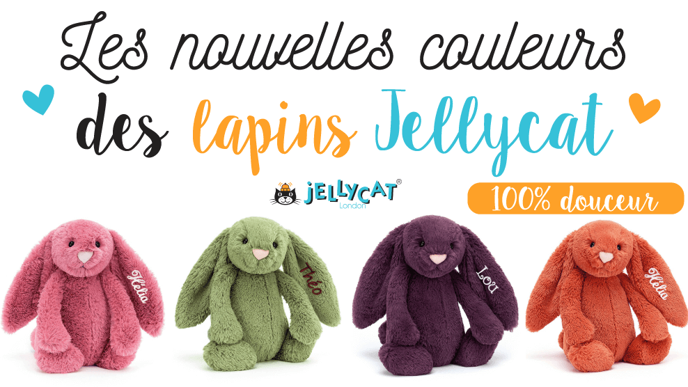 Peluches Lapins Jellycat