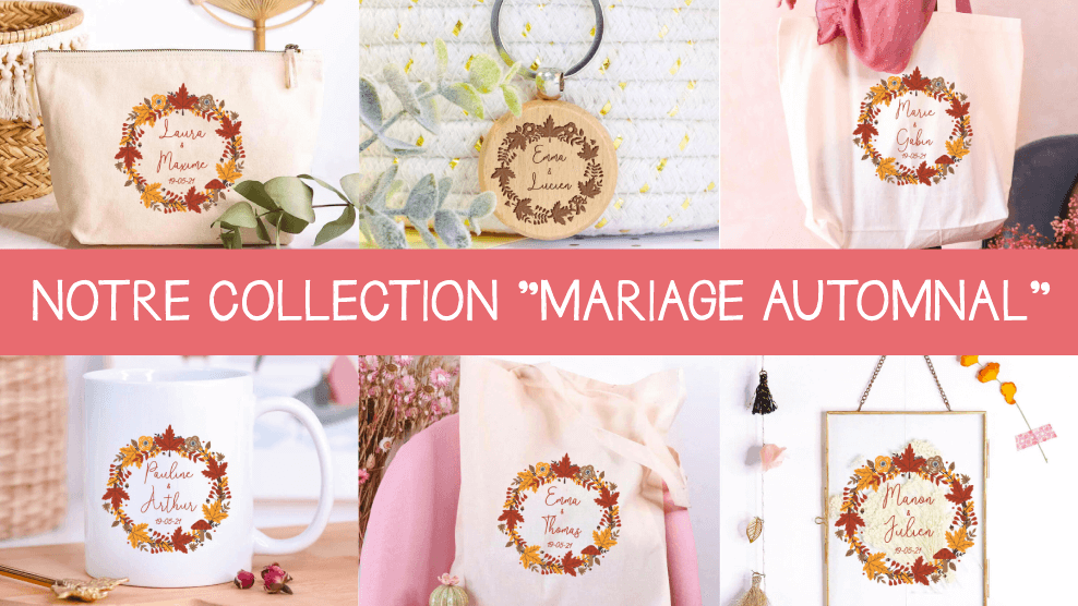 Collection Mariage Automnal
